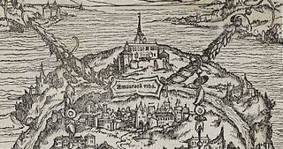 Detail of an image of More's Utopia, Holbein 1518