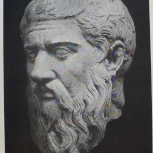 Plato disembodied head