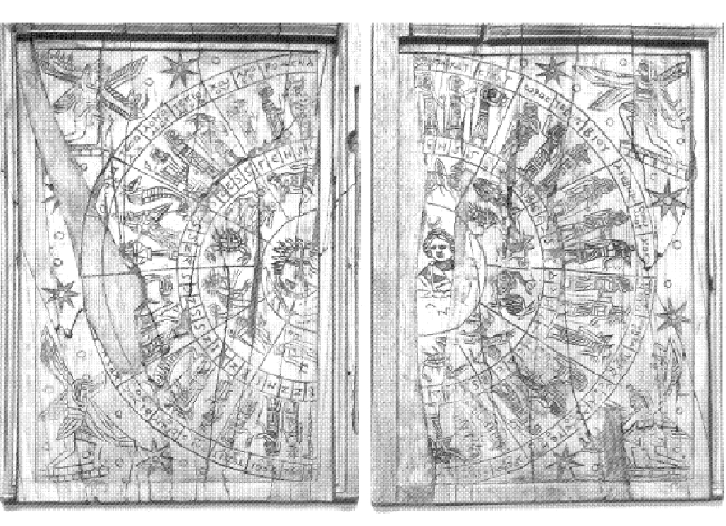 Ivory astrological board (2nd c. CE)