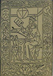 Pythagoras, Filippo Calandri Arithmetica (Florence 1491)