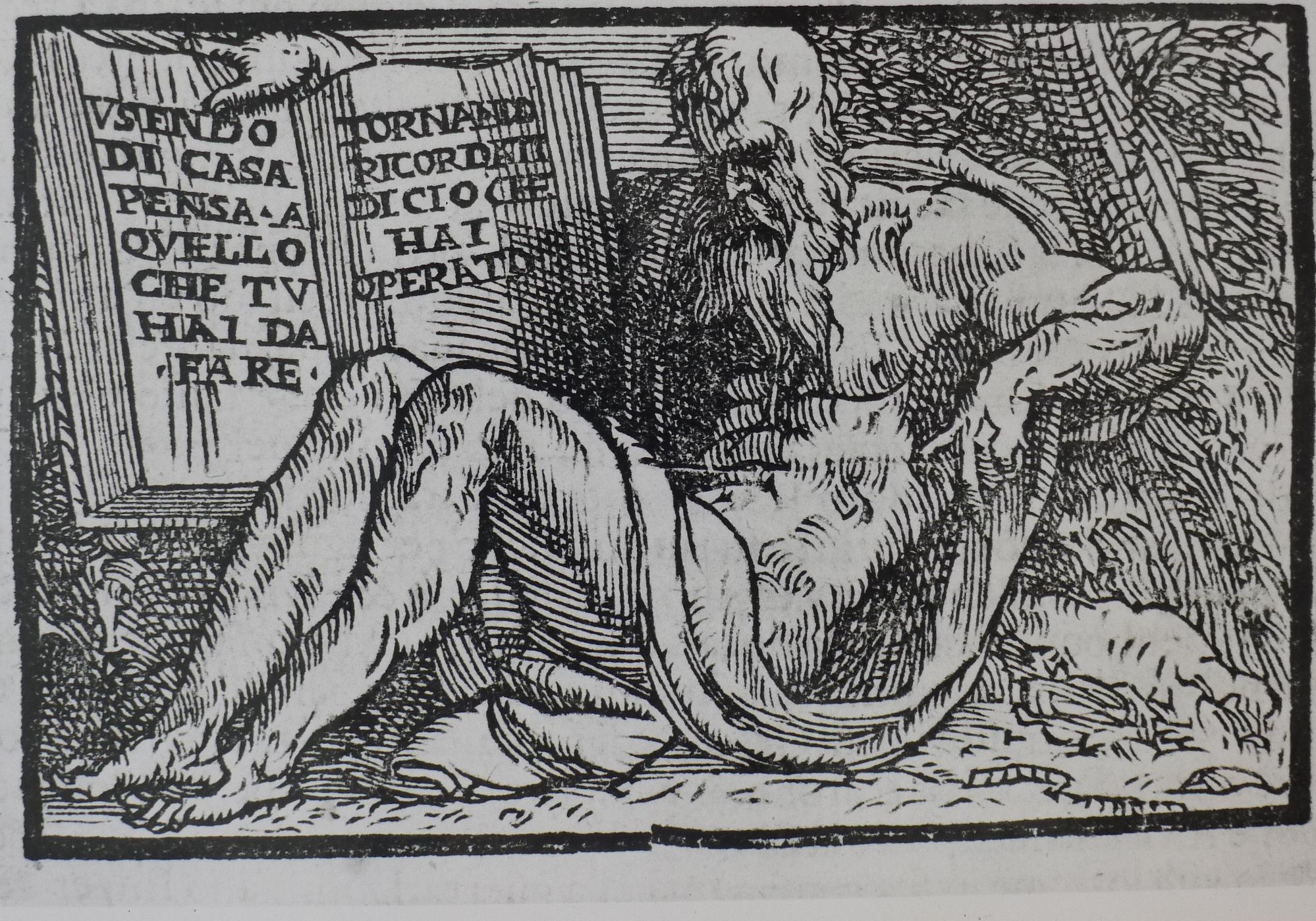 Plutarch from P. Messia, Selva Rinovata (Venice 1616), p. 13