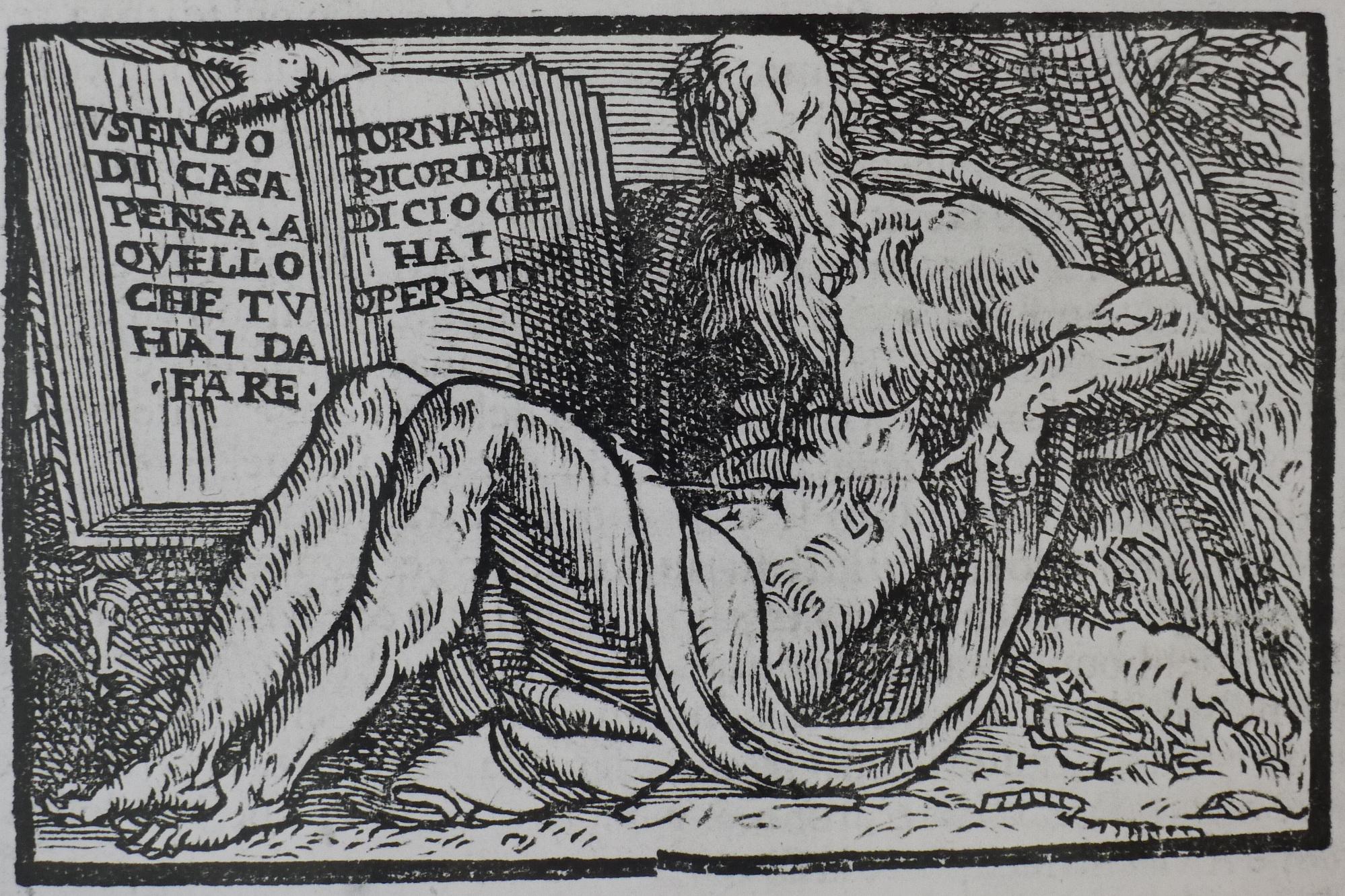 Plutarch from P. Messia, Selva Rinovata p. 13 (Venice 1616)