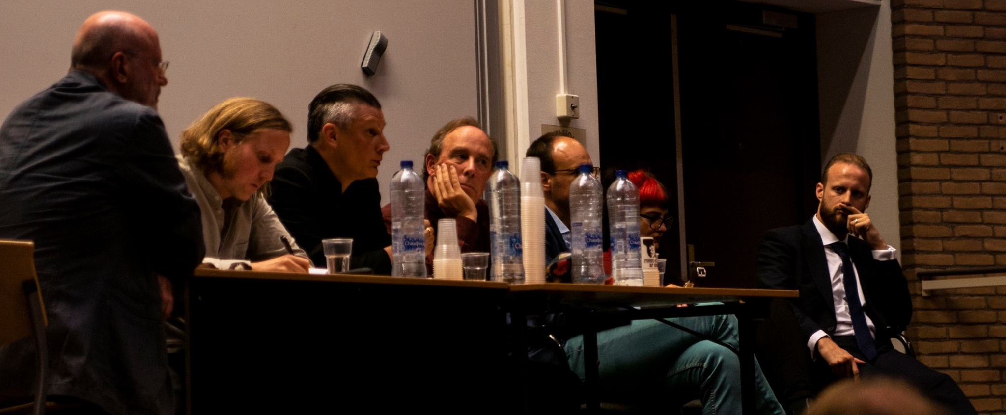 The panel in question (thanks to Sander Kalverda for the photo)