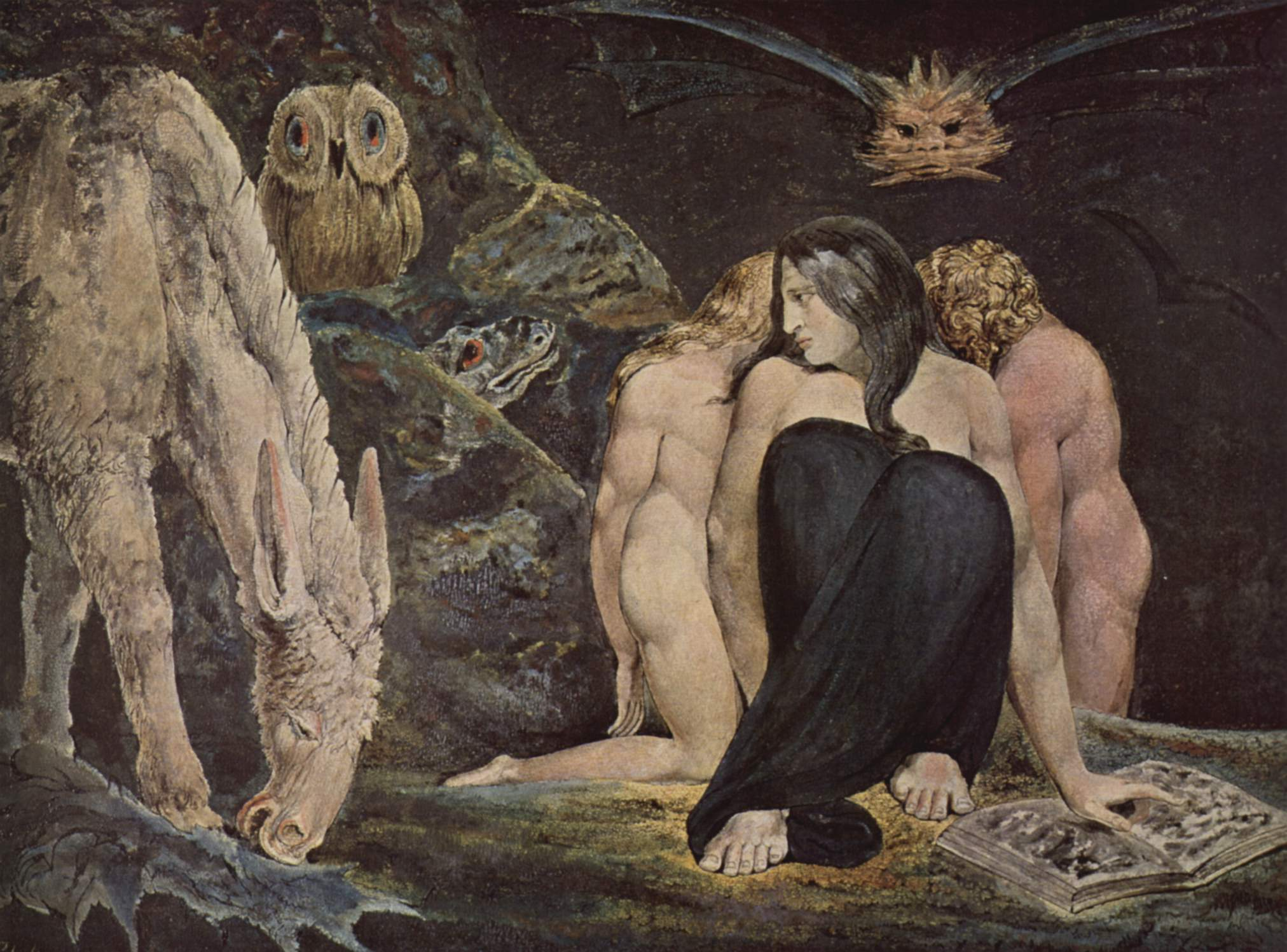 William Blake, The Triple Hecate, 1995